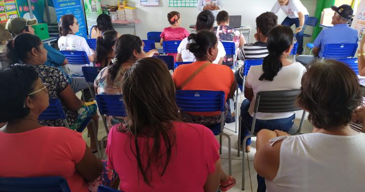 SECRETARIA DE ASSISTÊNCIA SOCIAL REALIZA AÇÃO MULHER MARAVILHA NO DISTRITO DE FILADÉLFIA