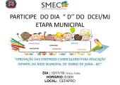 ETAPA MUNICIPAL DE DIRETRIZES CURRICULARES PARA A EDUCAÇÃO INFANTIL DA REDE MUNICIPAL DE ENSINO