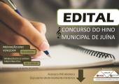 JUÍNA LANÇA EDITAL PARA CONCURSO DO HINO MUNICIPAL