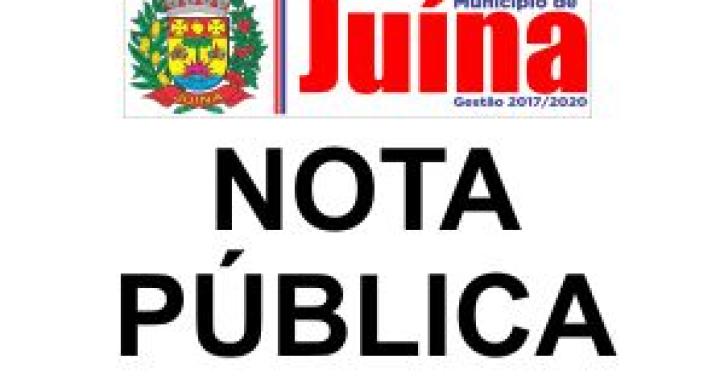 NOTA DE ESCLARECIMENTO SOBRE O CARNAVAL NO CENTRO DE EVENTOS