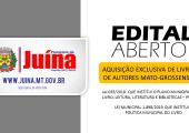 PREFEITURA DE JUÍNA FAZ SUA PRIMEIRA AQUISIÇÃO EXCLUSIVA DE LIVROS DE AUTORES MATO-GROSSENSES