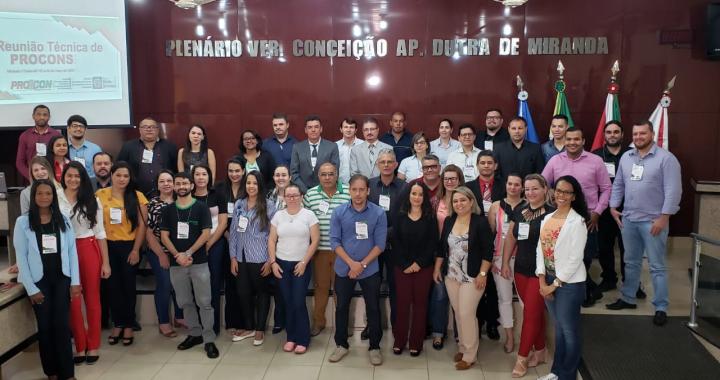 JUÍNA PARTICIPA DA 31ª REUNIÃO TÉCNICA DE PROCONS DO ESTADO DE MATO GROSSO