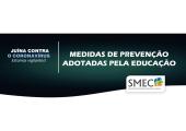 EM JUÍNA, EDUCAÇÃO ANUNCIA MEDIDAS DE PROTEÇÃO E  COMBATE  AO CORONAVÍRUS