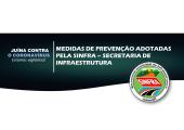 EM JUÍNA, SINFRA ANUNCIA MEDIDAS DE PREVENÇÃO E COMBATE AO CORONAVÍRUS
