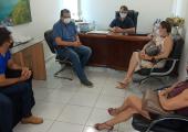 MORADORES DE ÁREAS ALAGADAS PARTICIPAM DE REUNIÃO COM PODER EXECUTIVO EM JUÍNA