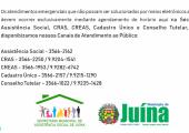 ASSISTÊNCIA SOCIAL INFORMA: CONTATOS TELEFÔNICOS PARA ATENDIMENTOS REMOTOS