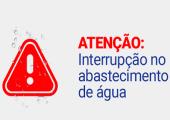 DAES DE JUÍNA INFORMA SOBRE SUSPENSÃO DA DISTRIBUIÇÃO DE ÁGUA