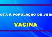 SECRETÁRIA DIVULGA NOTA INFORMATIVA SOBRE PLANO DE VACINAÇÃO EM JUÍNA