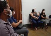 EQUIPE DA SAÚDE DE JUÍNA PARTICIPA DE ENCONTRO EM JUARA PARA TRATAR SOBRE ESTRUTURA DE HEMODIÁLISE
