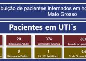 INFORME: TAXA DE OCUPAÇÃO DE LEITOS ADULTOS EM MATO GROSSO - 06-07-21