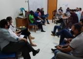 PREFEITO E VEREADORES TRATAM SOBRE AÇÕES EM BENEFÍCIO DA COMUNIDADE EM JUÍNA