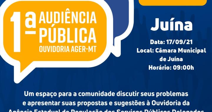 Ager faz 1ª audiência pública para população fazer sugestões, propostas e reclamações de empresas reguladas