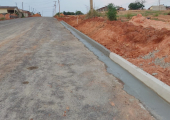Esclarecimento: Continuidade das obras do asfalto no bairro Módulo 06