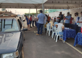 """Dia """"D"""" De Vacinação Contra Covid-19 em Juína"""