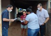 Administração Municipal entrega títulos a moradores do Bairro Padre Duílio